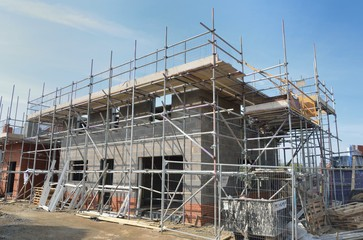 Image of new homes being built by national housebuilder in 2020