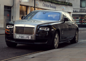 Image of Rolls Royce owned by a director of national housebuilder company