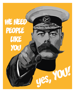 We need people like you!